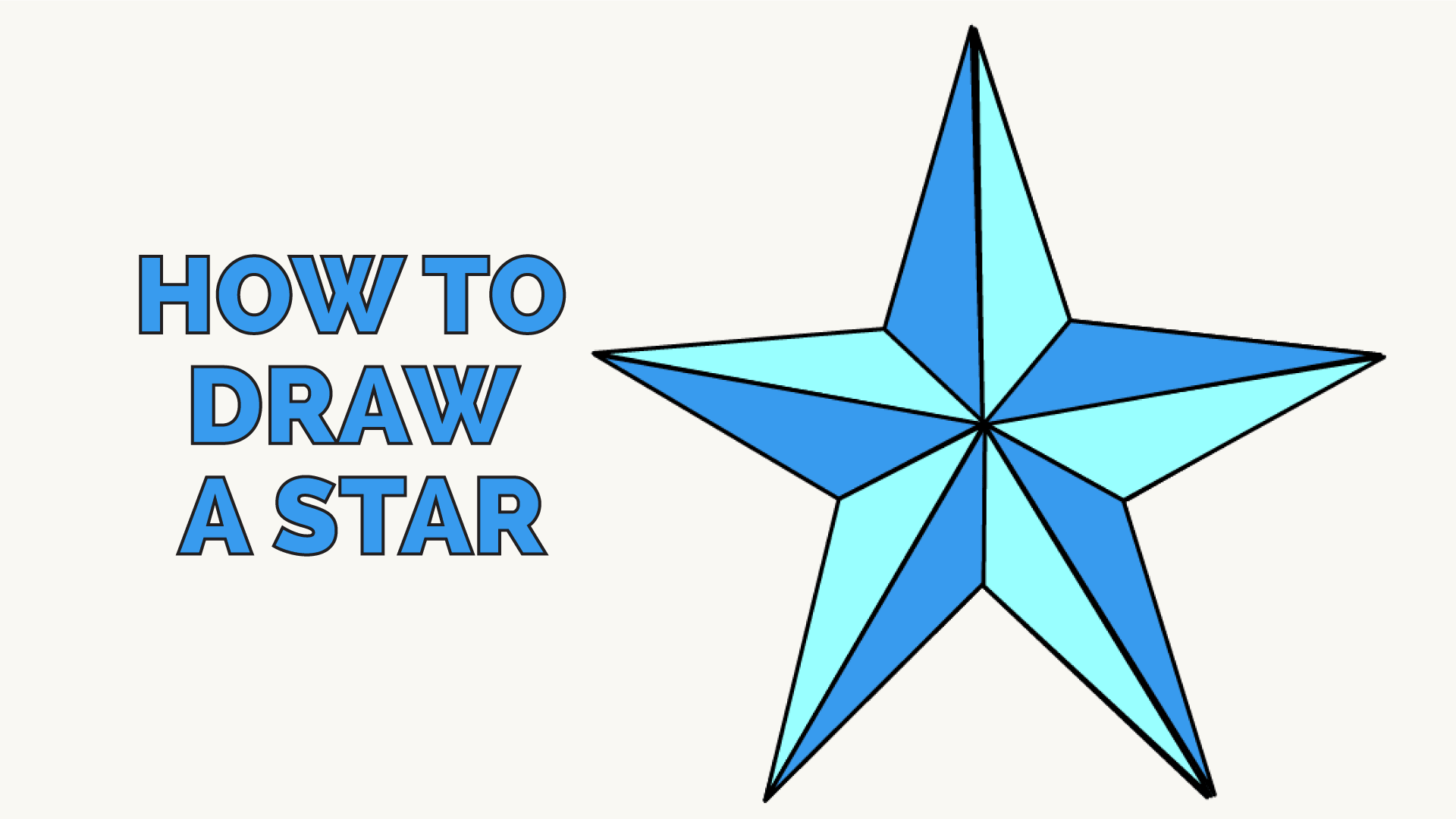 How to draw a star 25