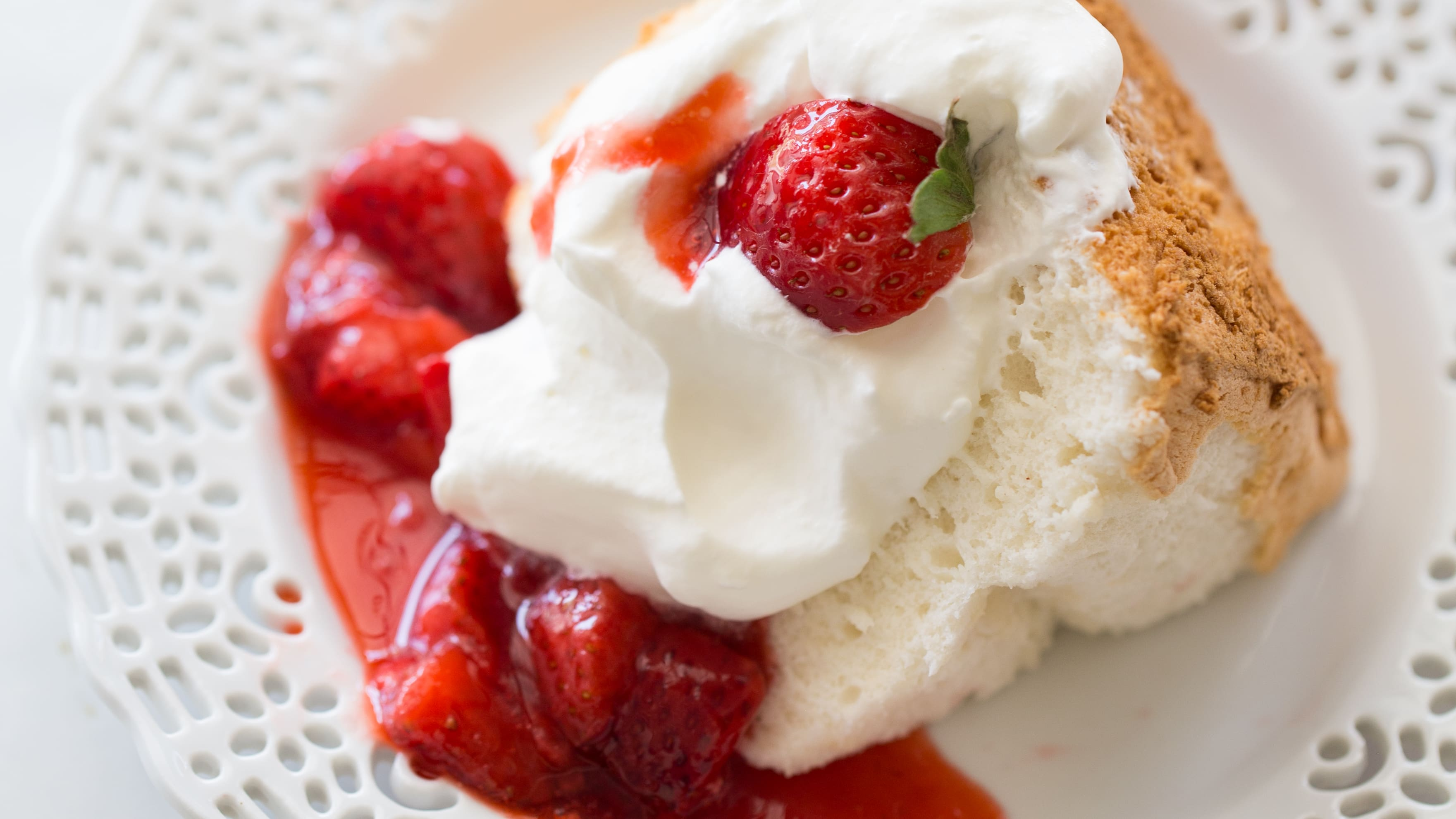 Perfect Gluten Free Angel Food Cake