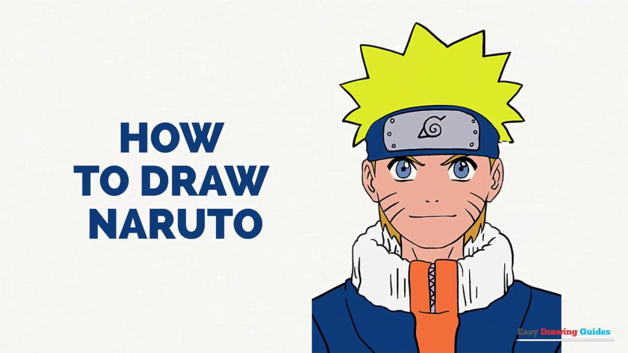 How to Draw Naruto in a Few Easy Steps: Drawing Tutorial for Kids and  Beginners