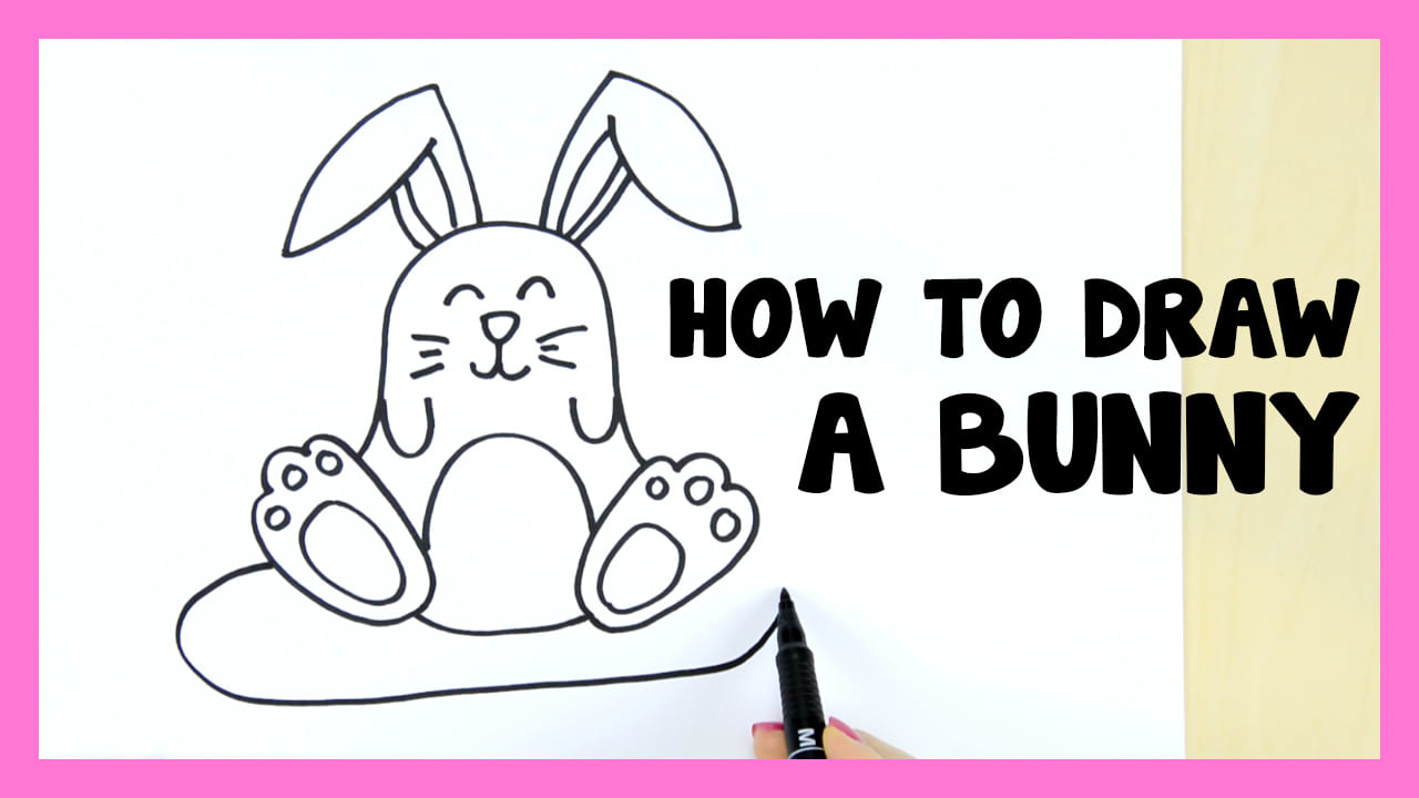 How To Draw A Bunny Cute Step By Step Easy Peasy And Fun