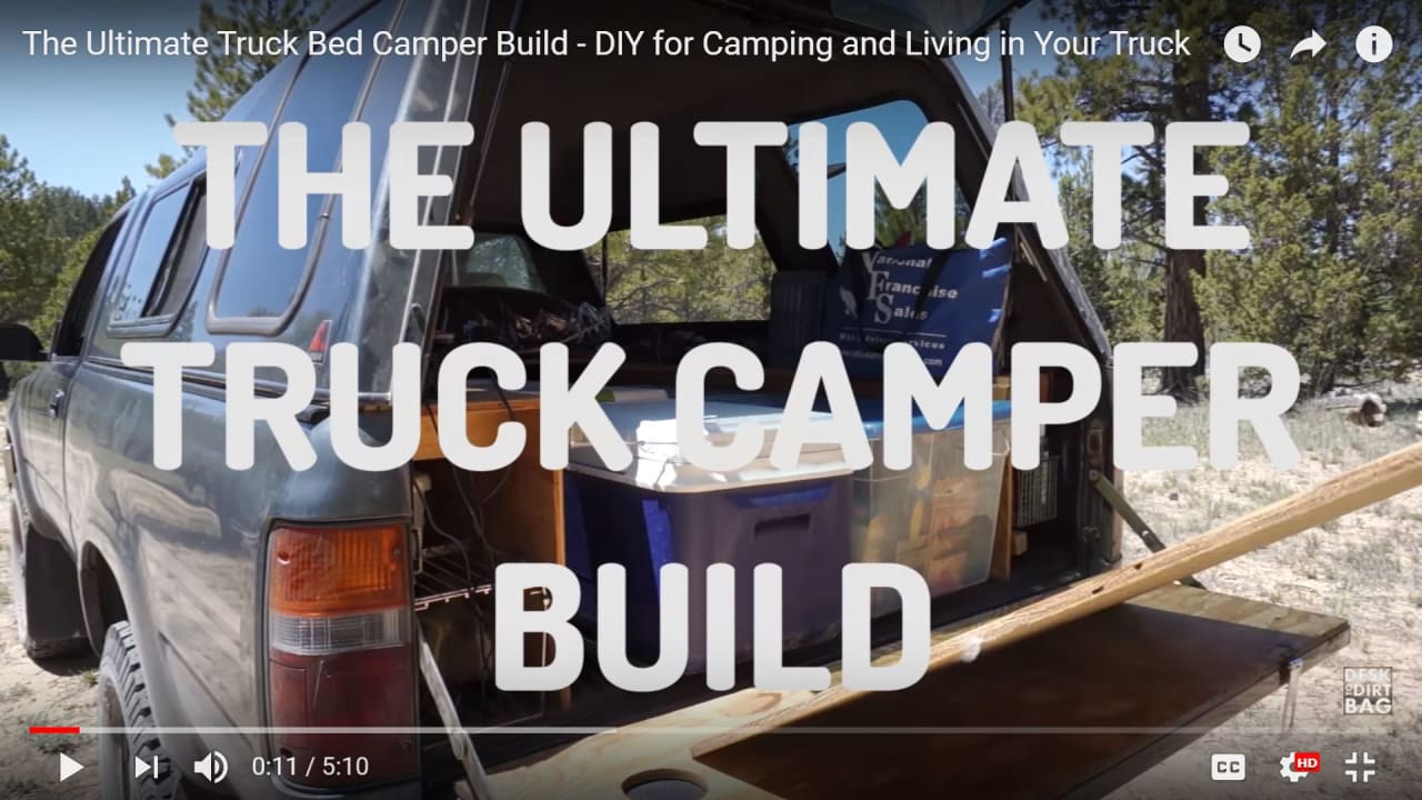 Truck Camping The Ultimate Guide To Outfitting And Living In A Pickup