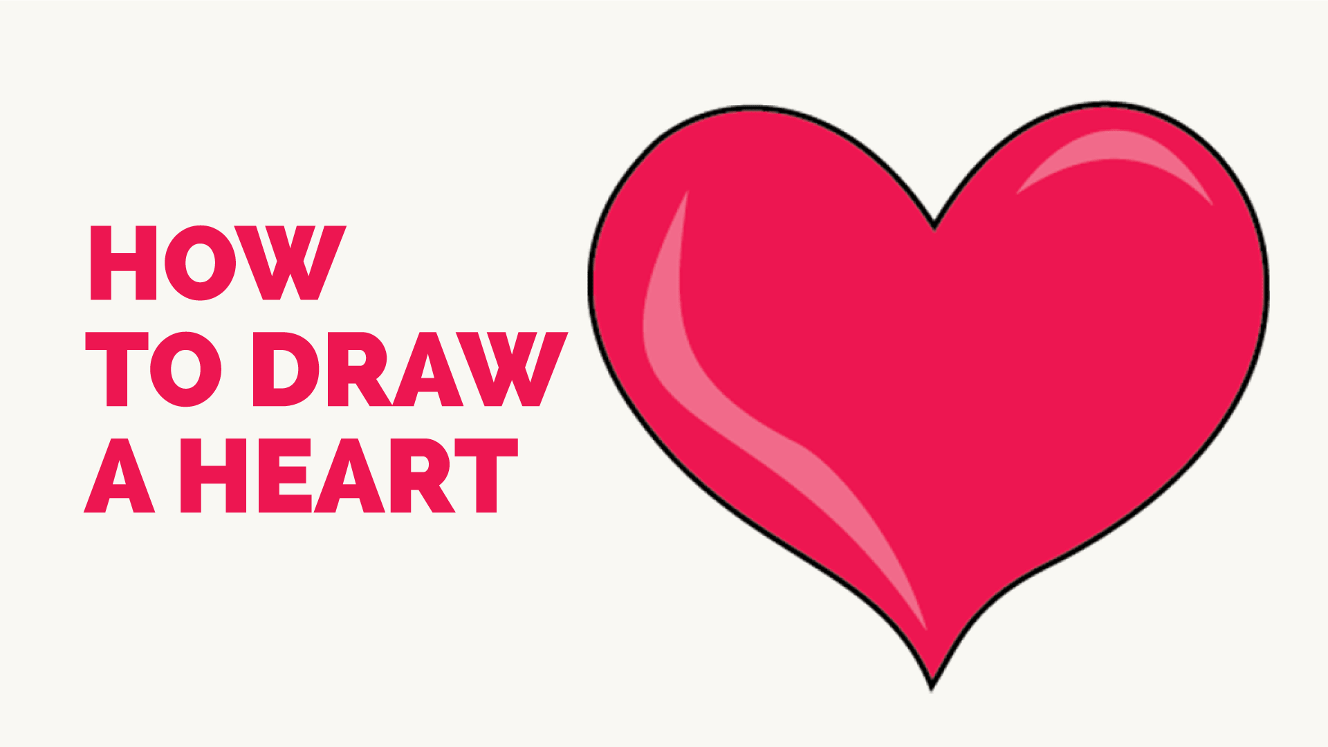 How To Draw A Heart Step By Tutorial Easy Drawing Guides Diagram Click For Details Show Me Of The Human