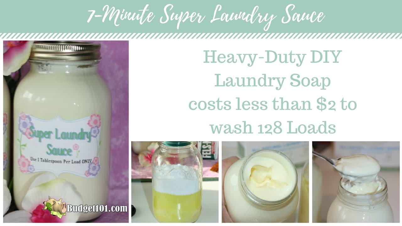 super laundry sauce for dummies no fail laundry detergent recipe