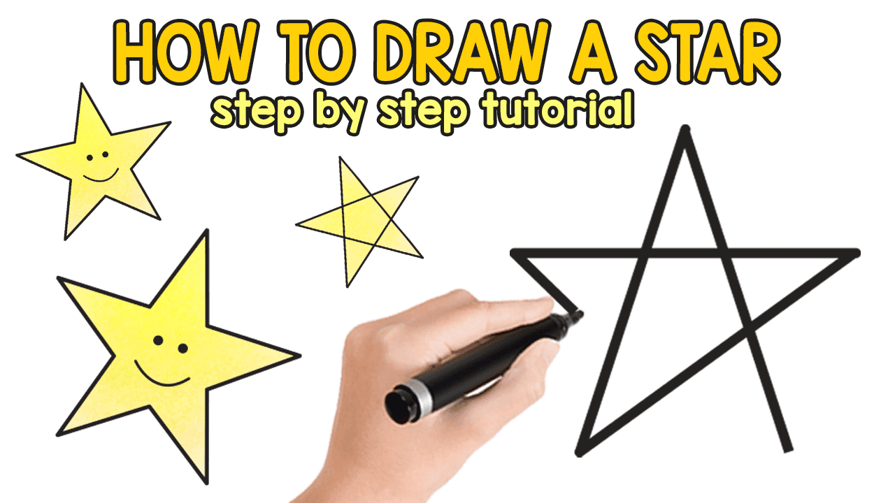 How to draw a star 60