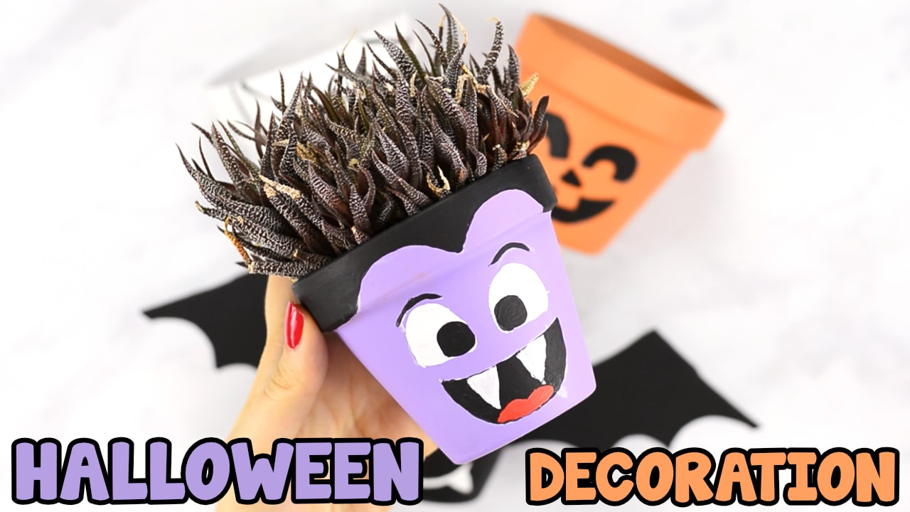 Halloween Clay Pot Craft Ideas Easy Peasy And Fun