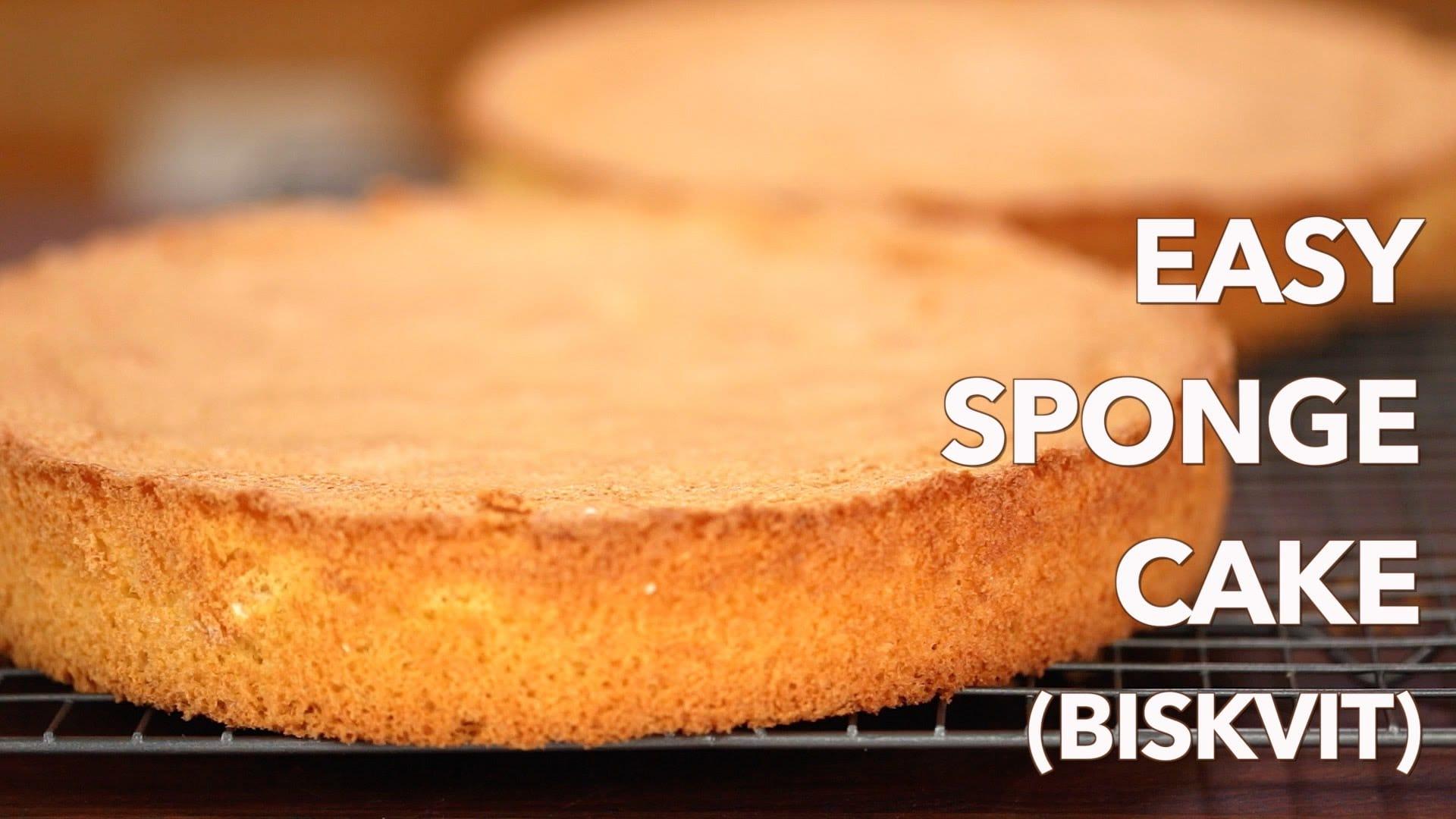 8 round sponge cake recipe