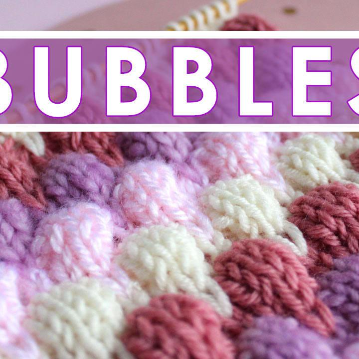 e8475a769939 Bubble Knit Stitch Pattern Projects (Roundup)