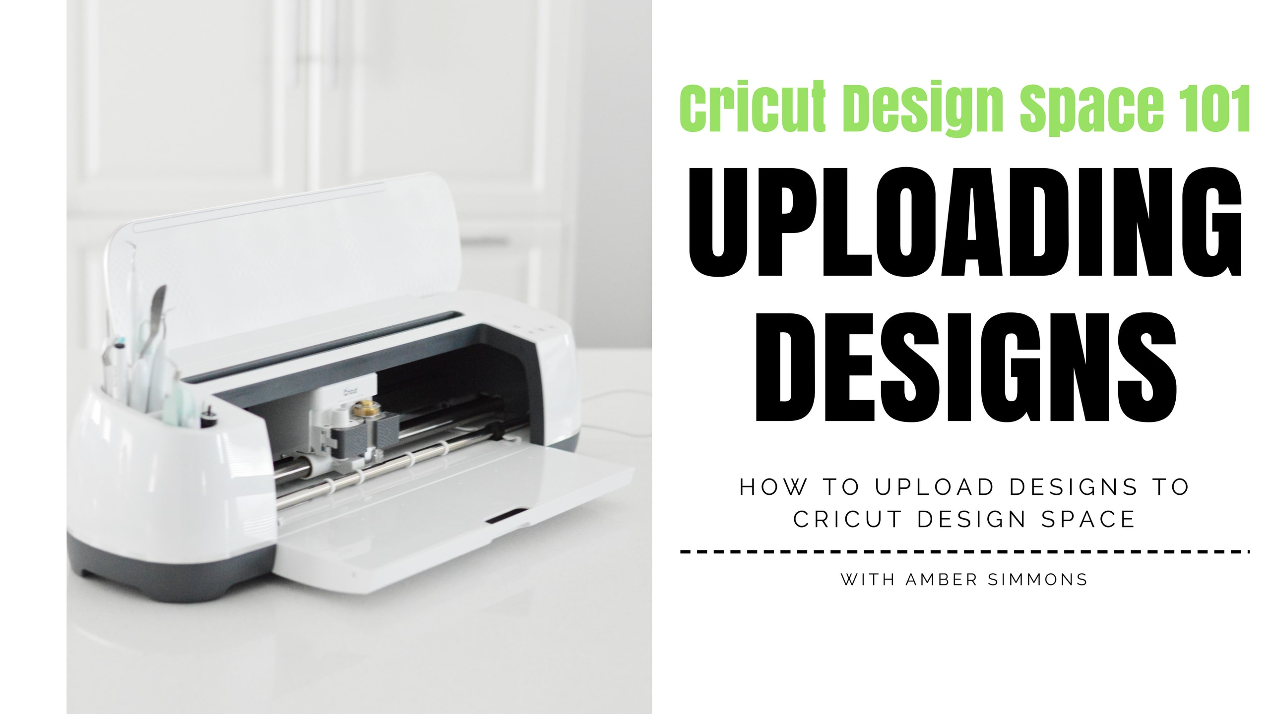Cricut Design Space 101 - HOW TO UPLOAD YOUR OWN IMAGES