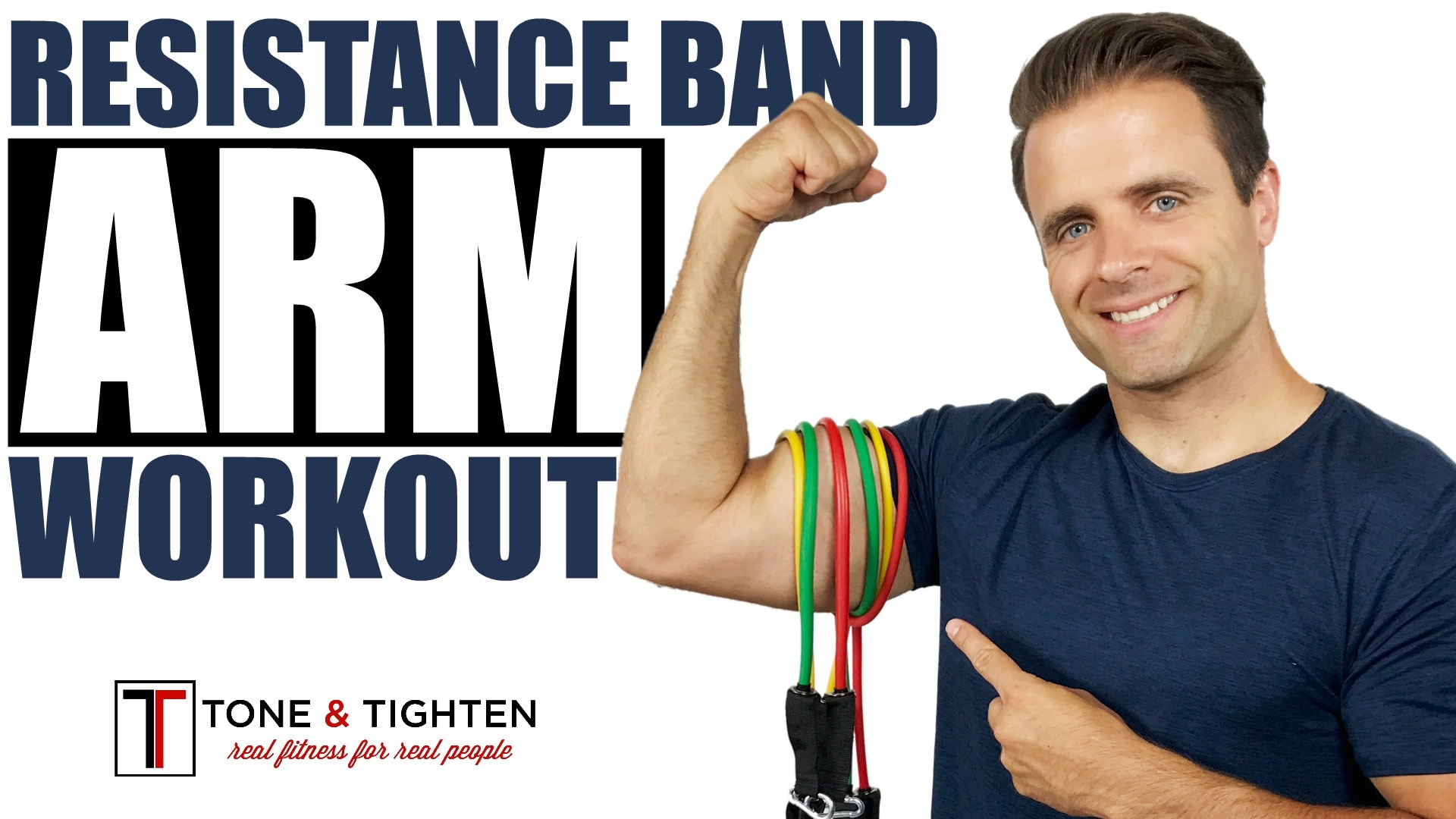 59a3aca48d0 Total Arm Workout With Resistance Band