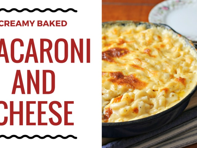 Baked Macaroni And Cheese Feast And Farm