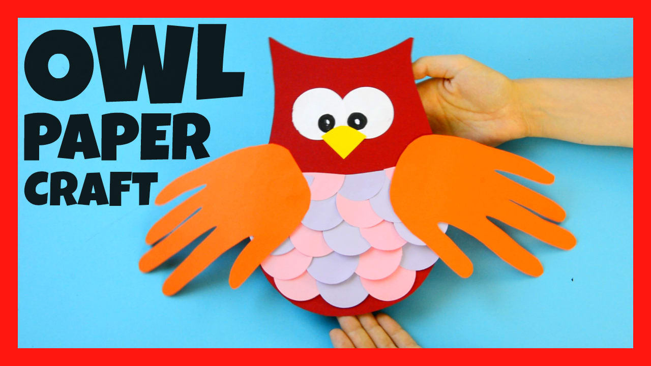 construction paper owl craft easy peasy and fun