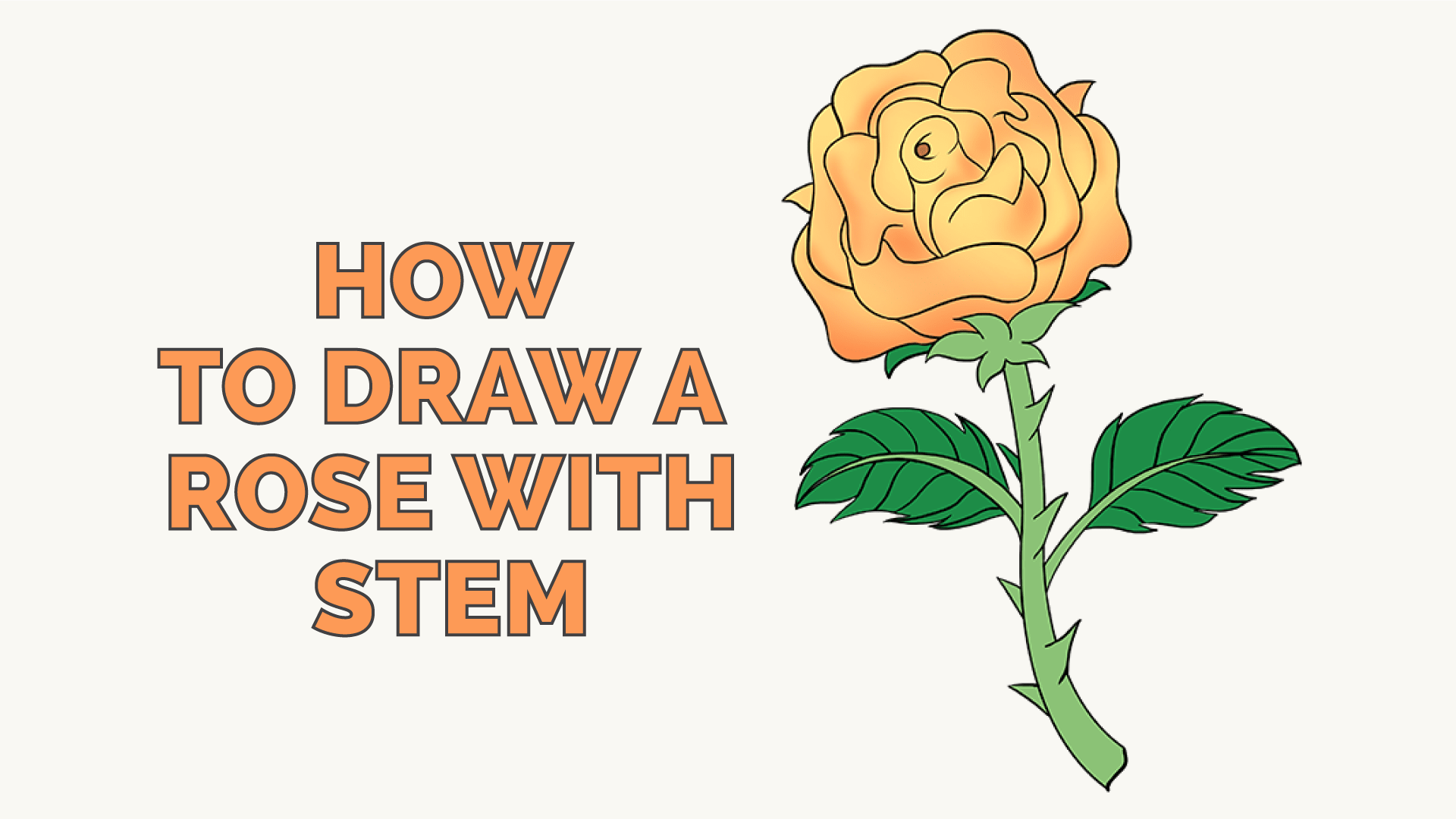 How To Draw A Rose In A Few Easy Steps Easy Drawing Guides