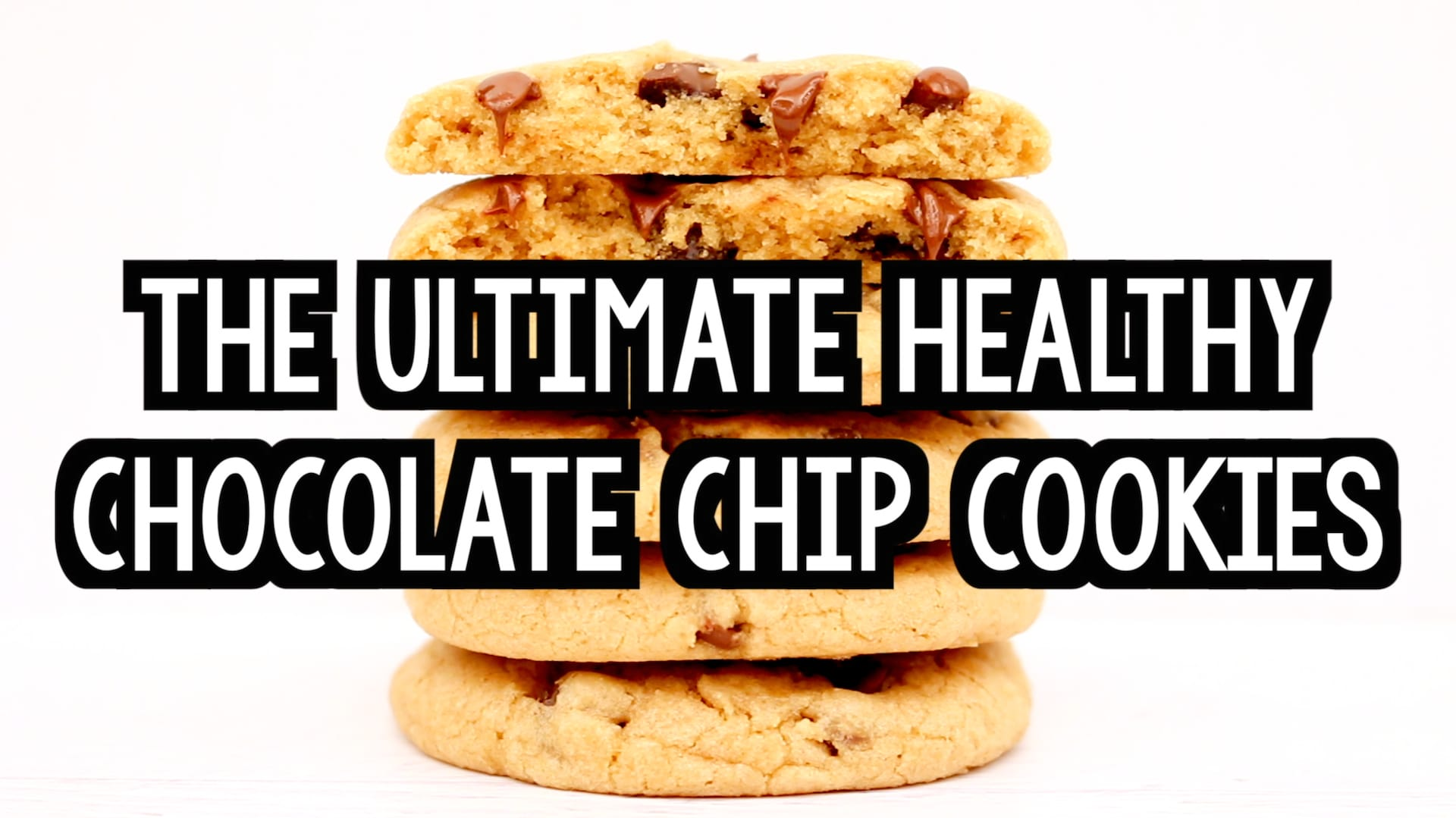 The Ultimate Healthy Soft Chewy Chocolate Chip Cookies Recipe Video Amy S Healthy Baking