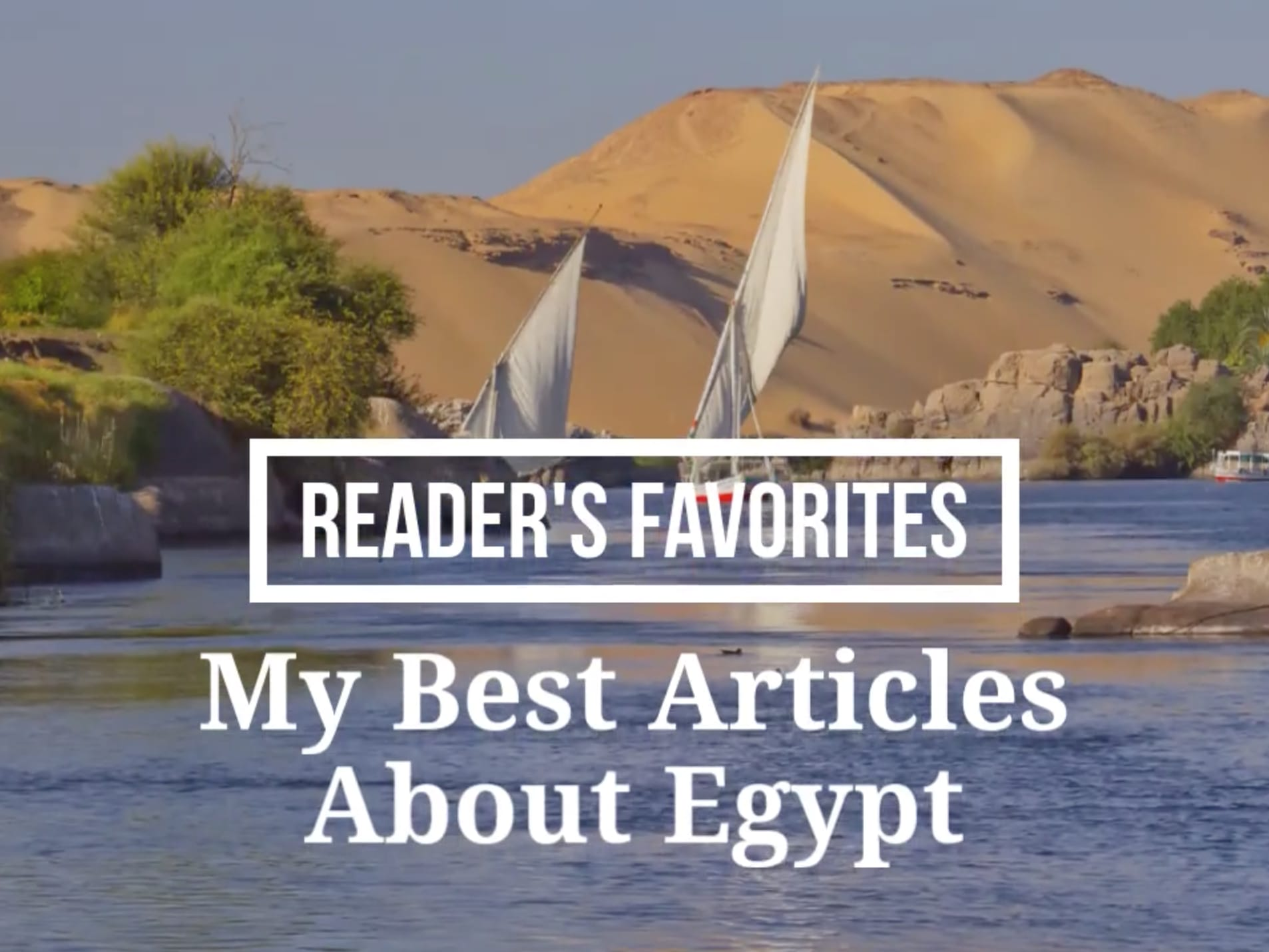 Readers Favorite Blogs about Egypt