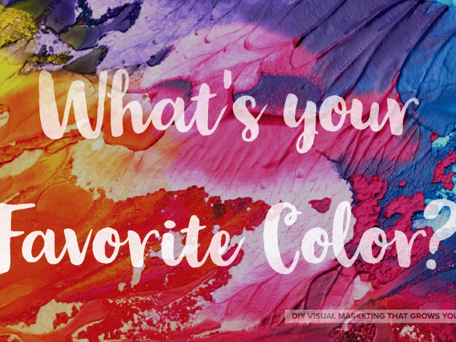 What does your favorite color say about you sexually