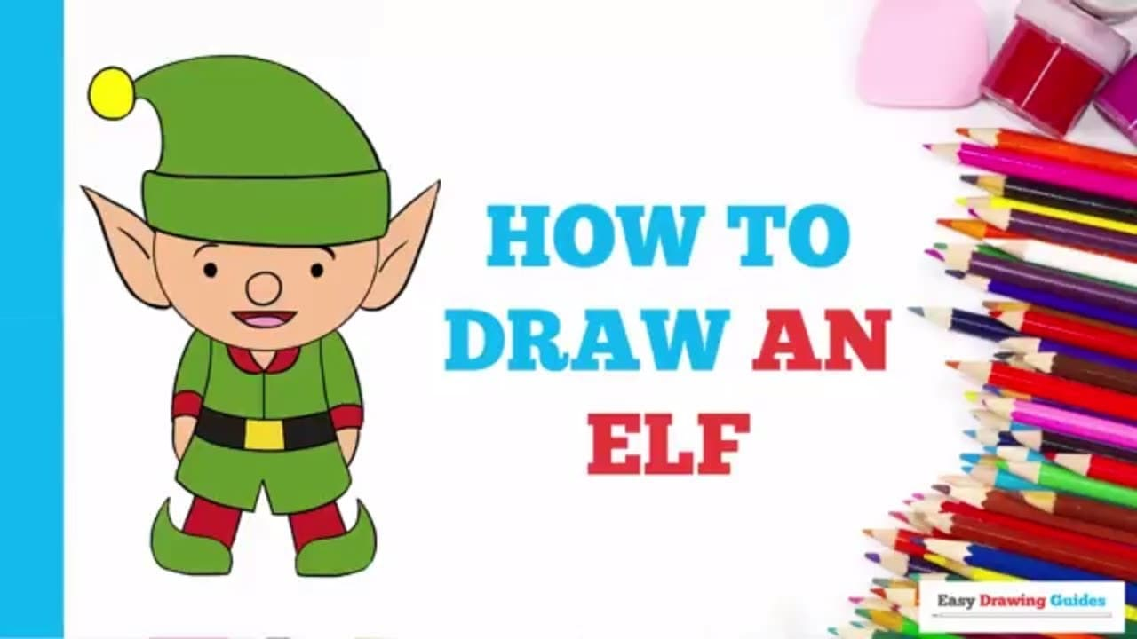 How To Draw An Elf Really Easy Drawing Tutorial