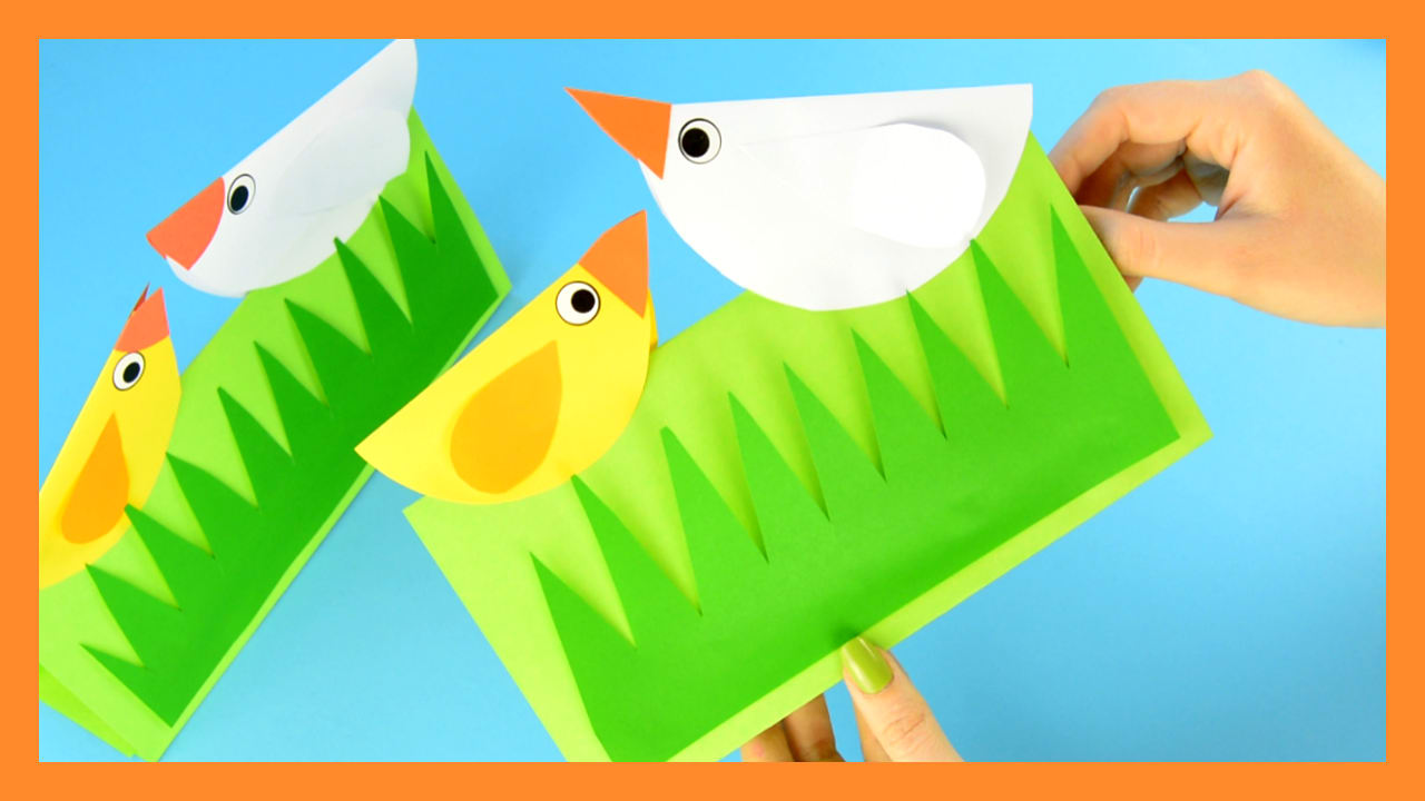 Spring Chick Craft - Easy Peasy and Fun