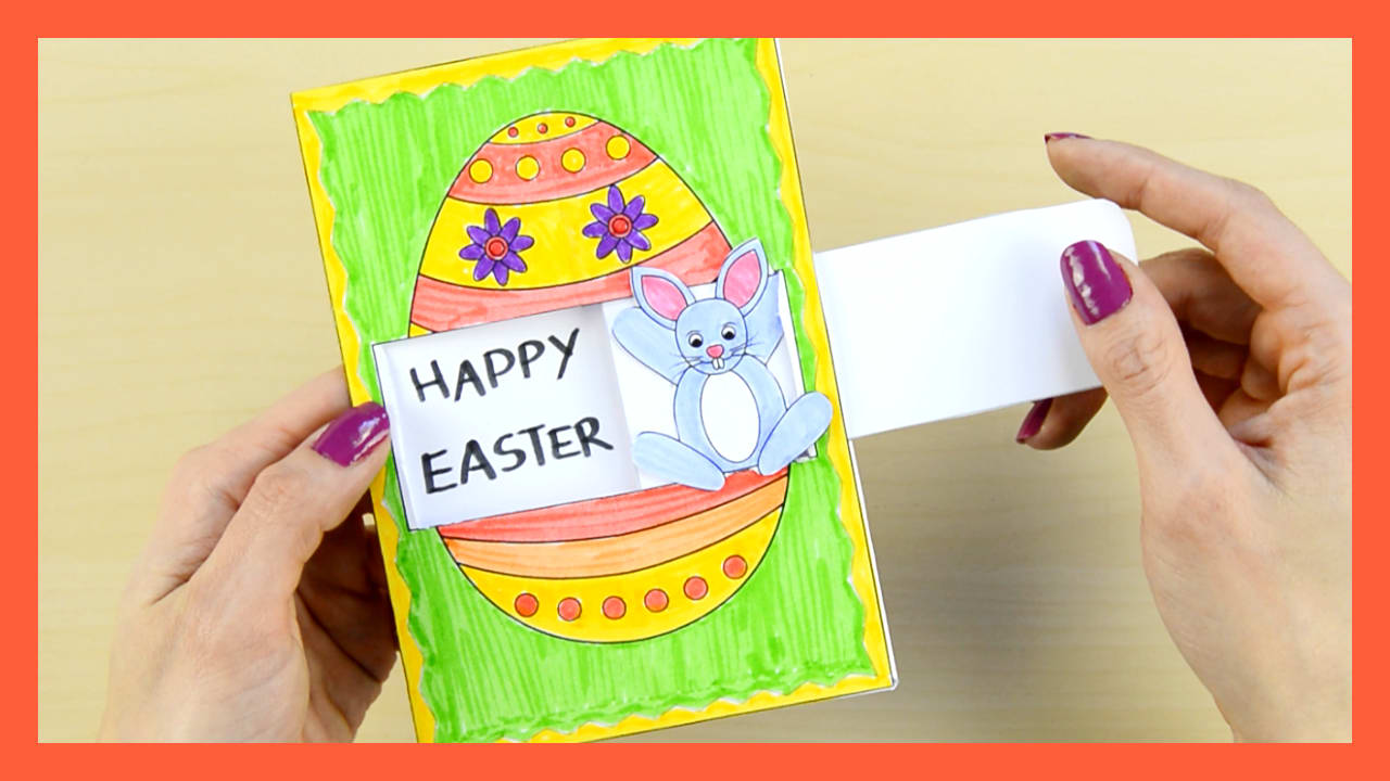 Hidden Message Easter Card Easy Peasy And Fun