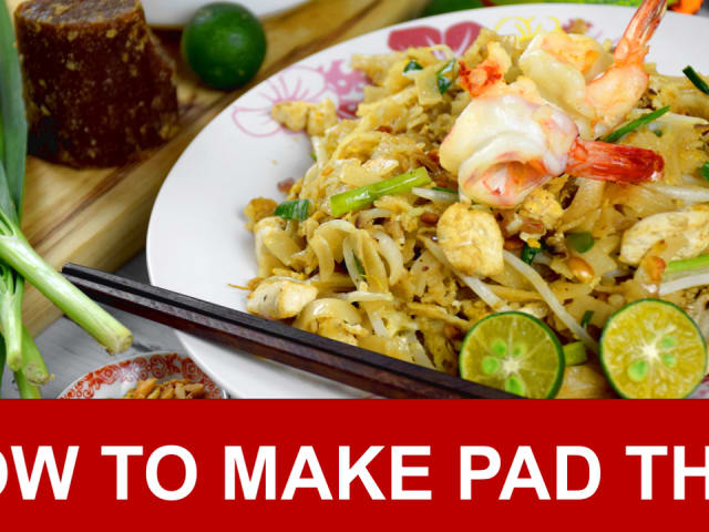 Pad Thai Recipe How To Make Authentic Pad Thai In Four Simple Steps