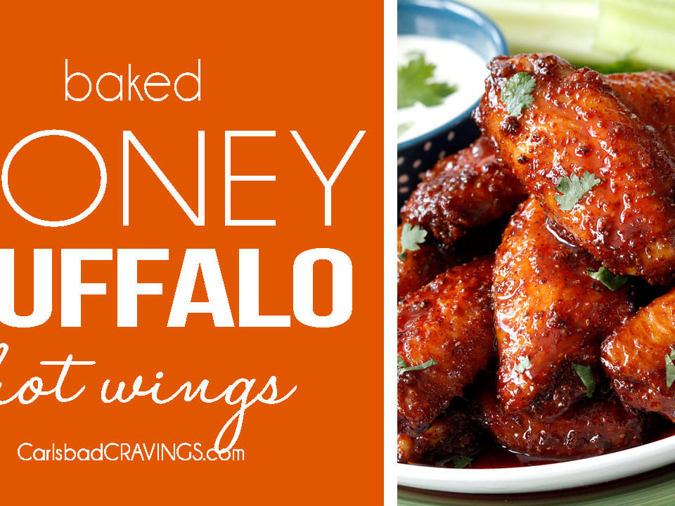 Honey Buffalo Hot Wings And Classic Buffalo Wings Video