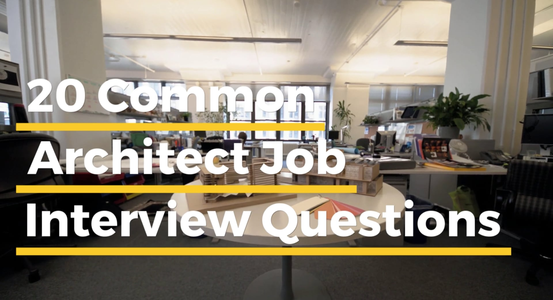 20 common architect job interview questions the architect s guide