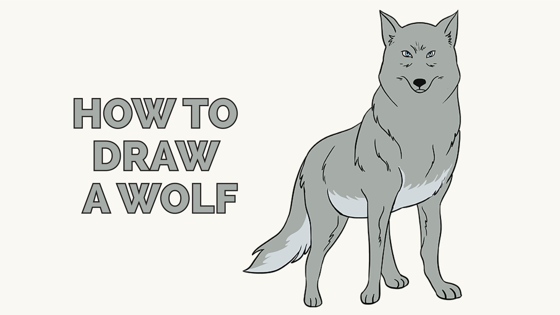 How To Draw A Wolf Easy Step By Step Drawing Guides