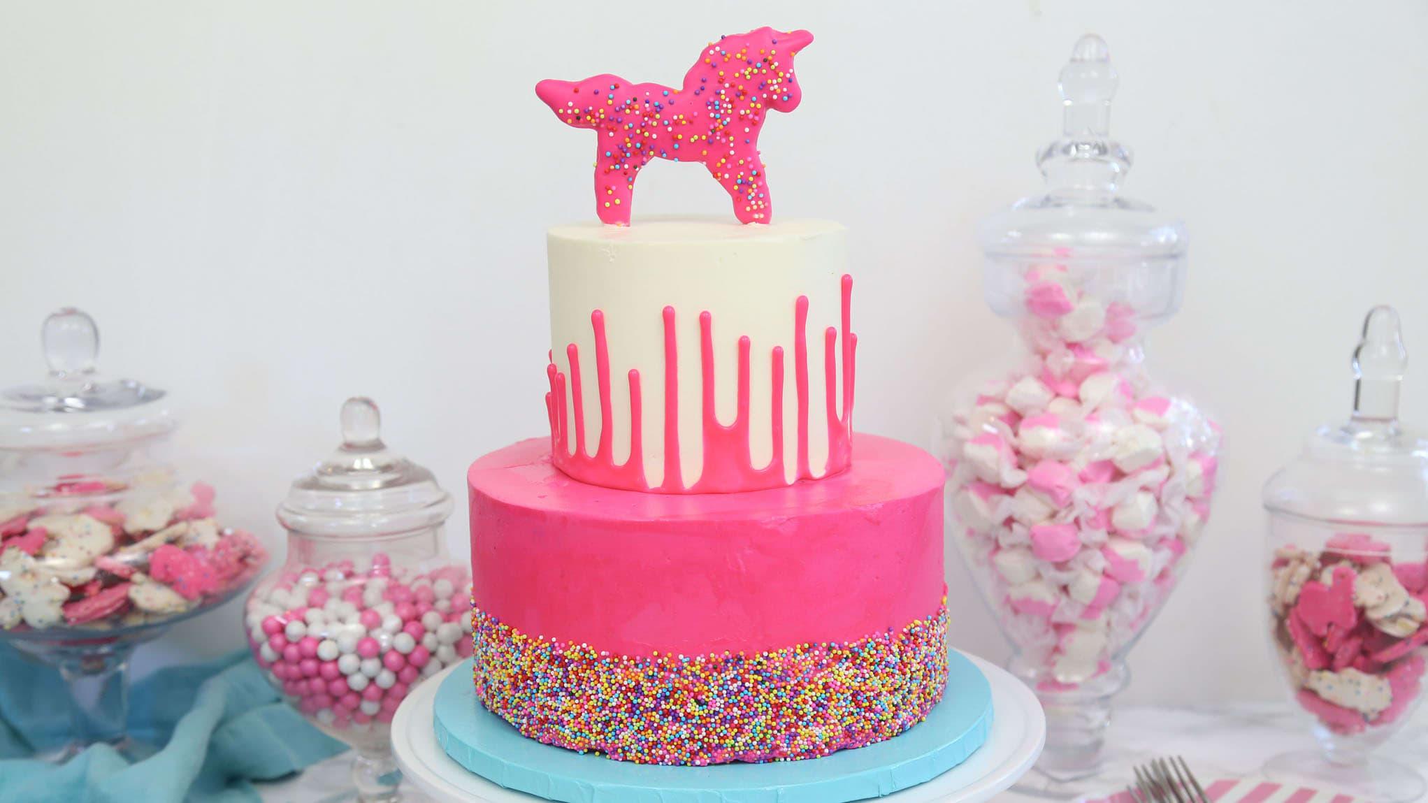 Circus Animal Layer Cake