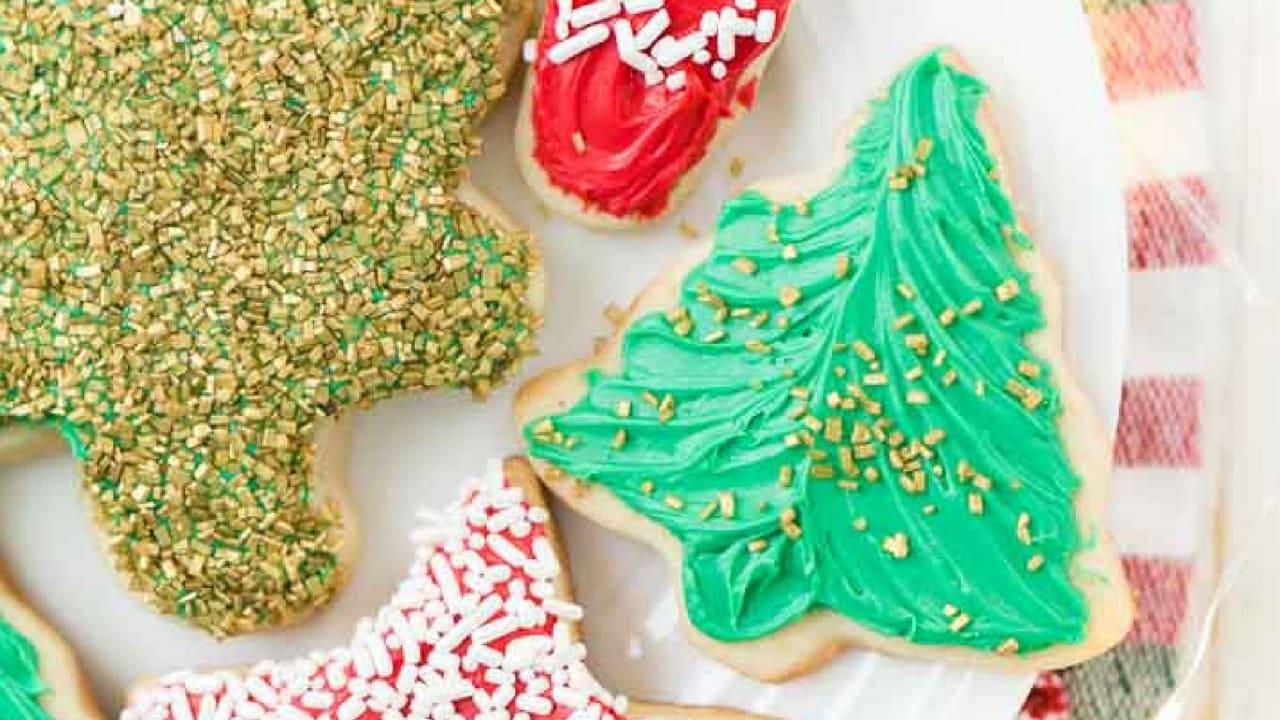 Classic Christmas Sugar Cookie Recipe | Sugar and Soul