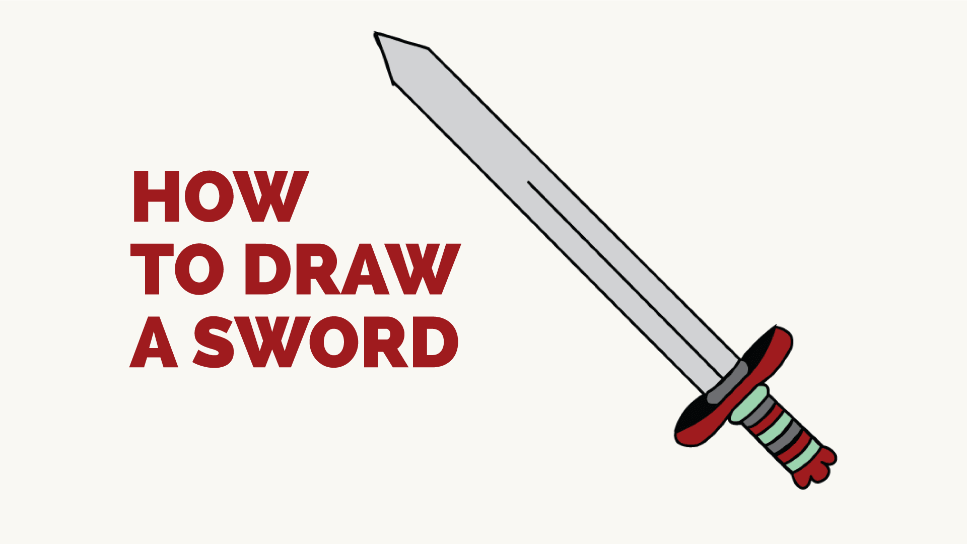How to draw a sword 40