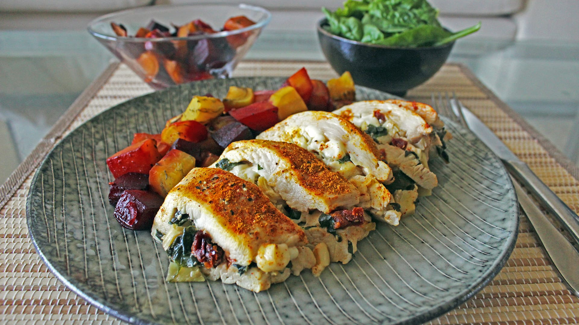 Healthy stuffed chicken breast diabetes strong forumfinder Images