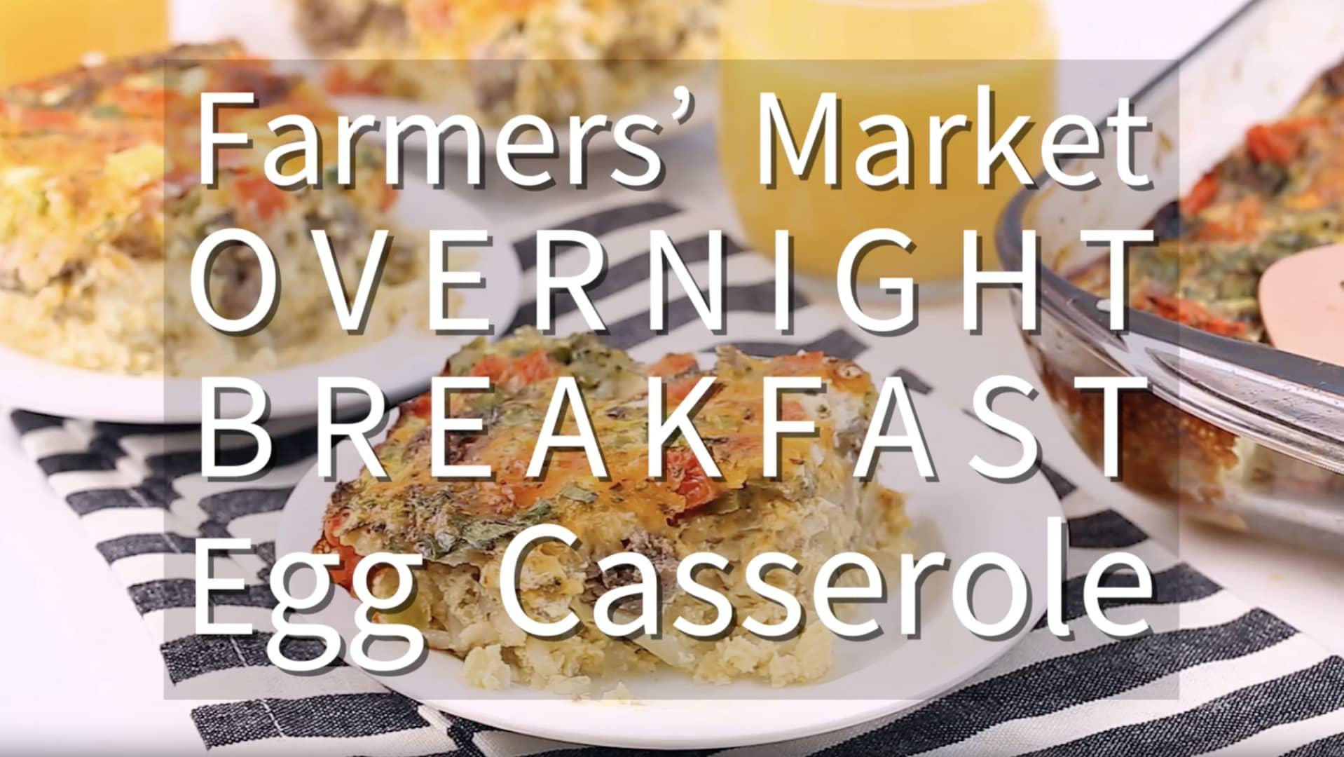 Farmers market overnight breakfast egg casserole forumfinder Gallery