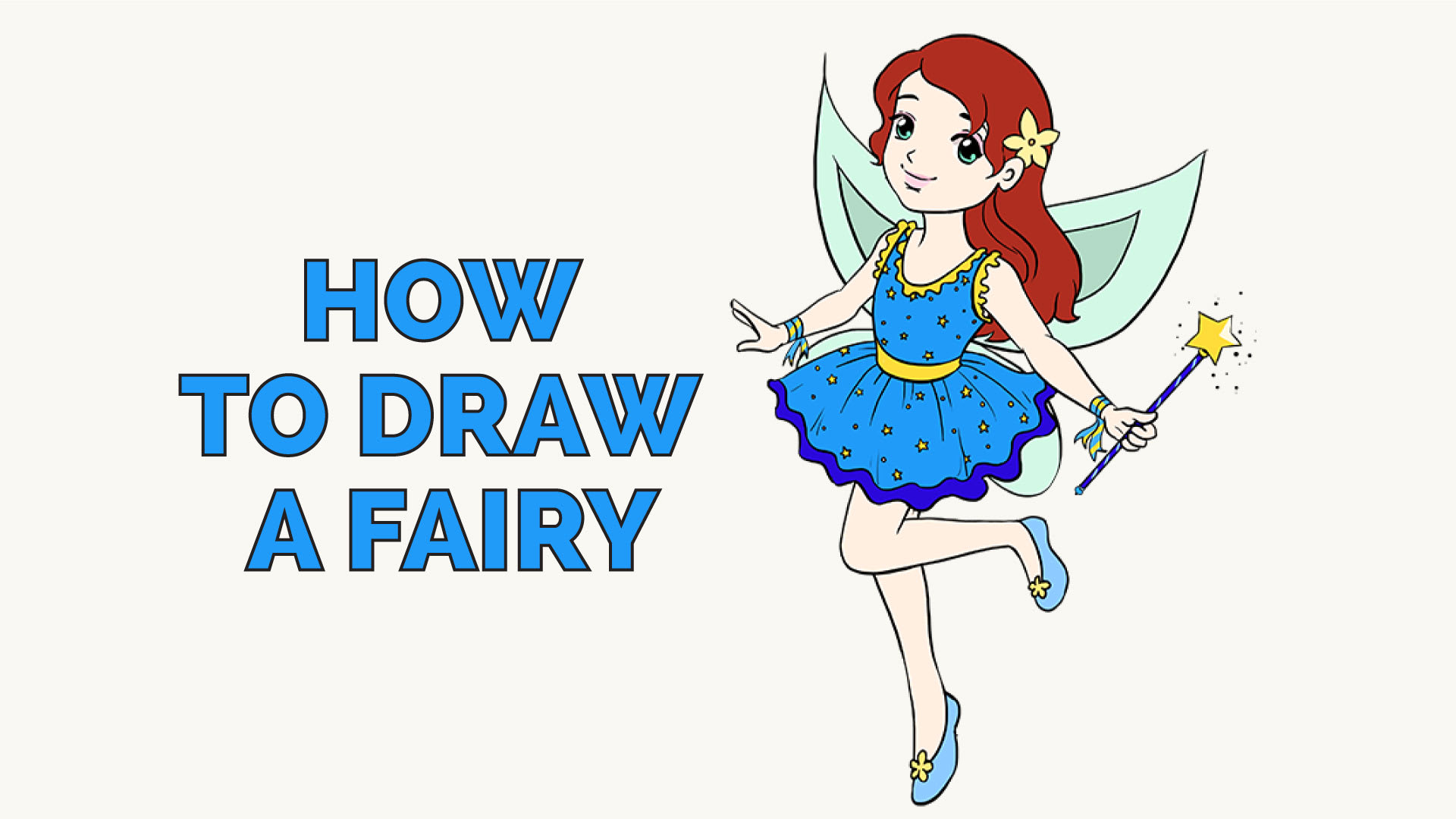 How to draw a fairy in a few easy steps easy drawing guides