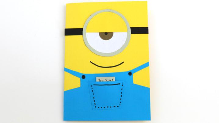Easy Minion Greeting Card The Craft Train