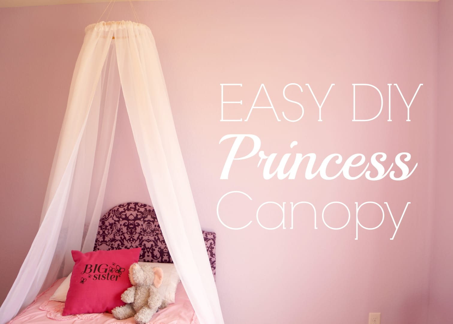 How to make a bed canopy for girls - How To Make A Bed Canopy For Girls 28