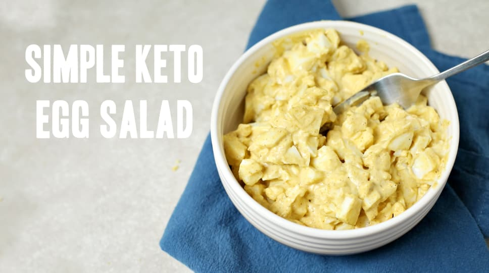 Low carb egg salad the perfect paleo grain free and keto snack forumfinder Images