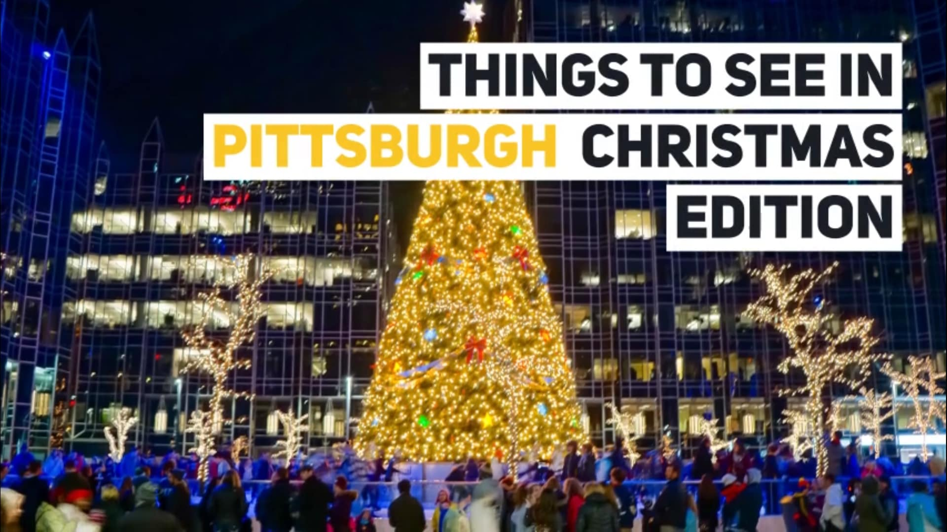 9 Must See Attractions During Christmas in Pittsburgh