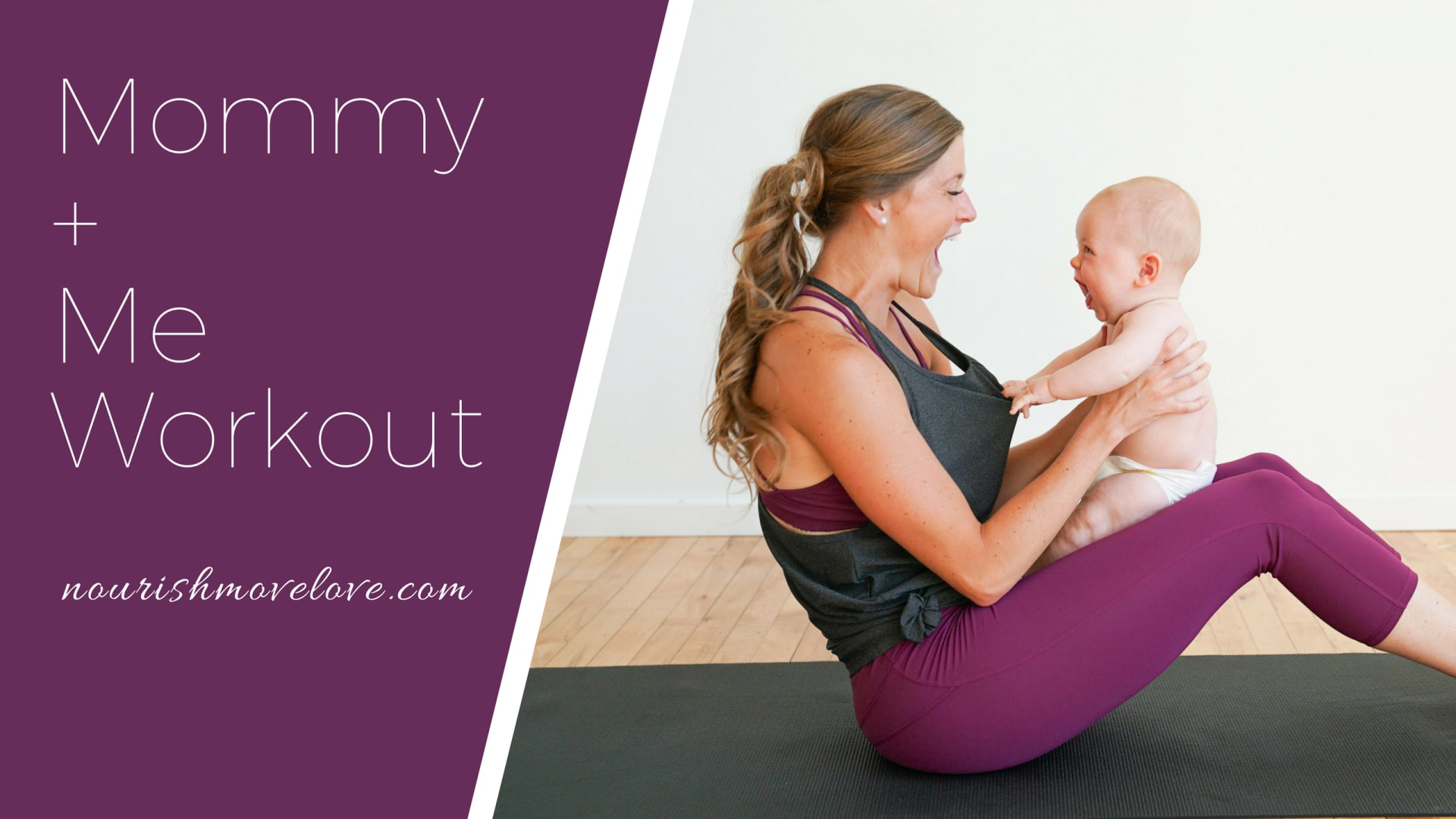 Mama beauty: fitness exercises with the baby (video)