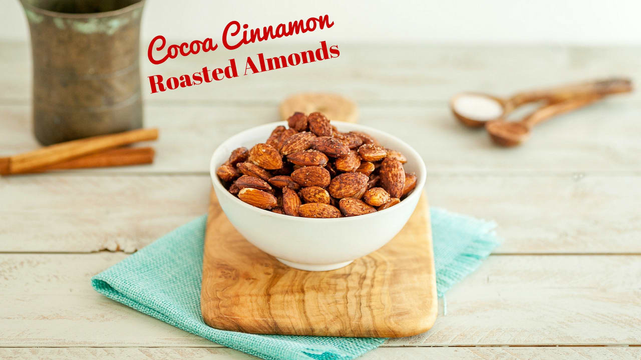 Cocoa Cinnamon Roasted Almonds Beauty And The Foodie Almond