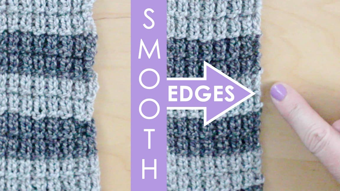 Slip Stitch Knitting Technique For Smooth Edges