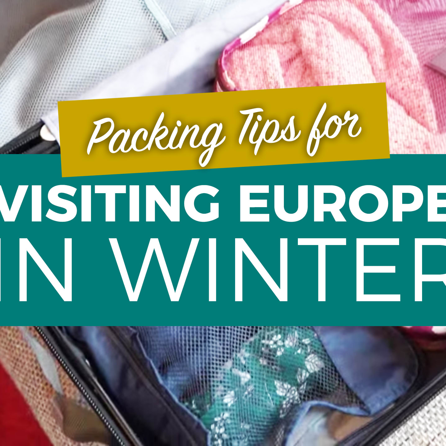 cc44fb9d1838 Travelling Europe in Winter  Female Winter Packing List for Europe