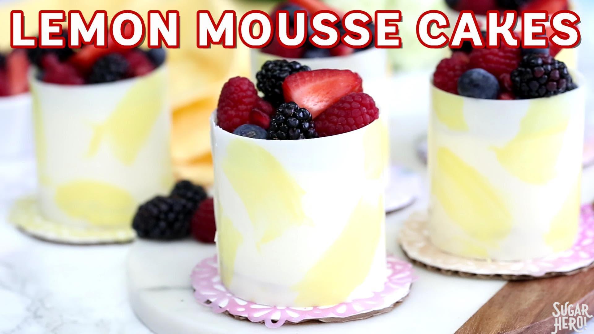 how to make lemon sponge cake recipe