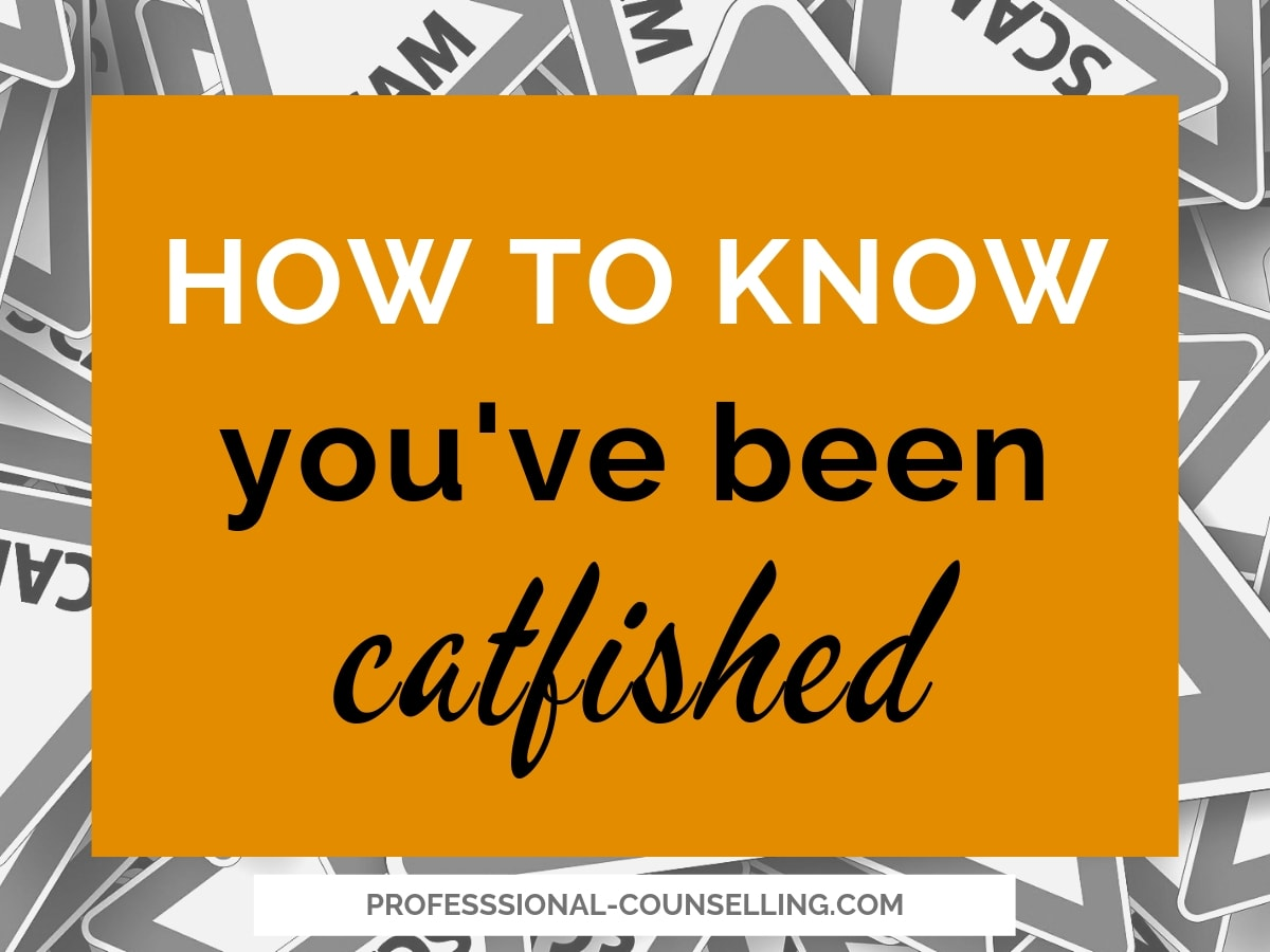 How to know you've been catfished