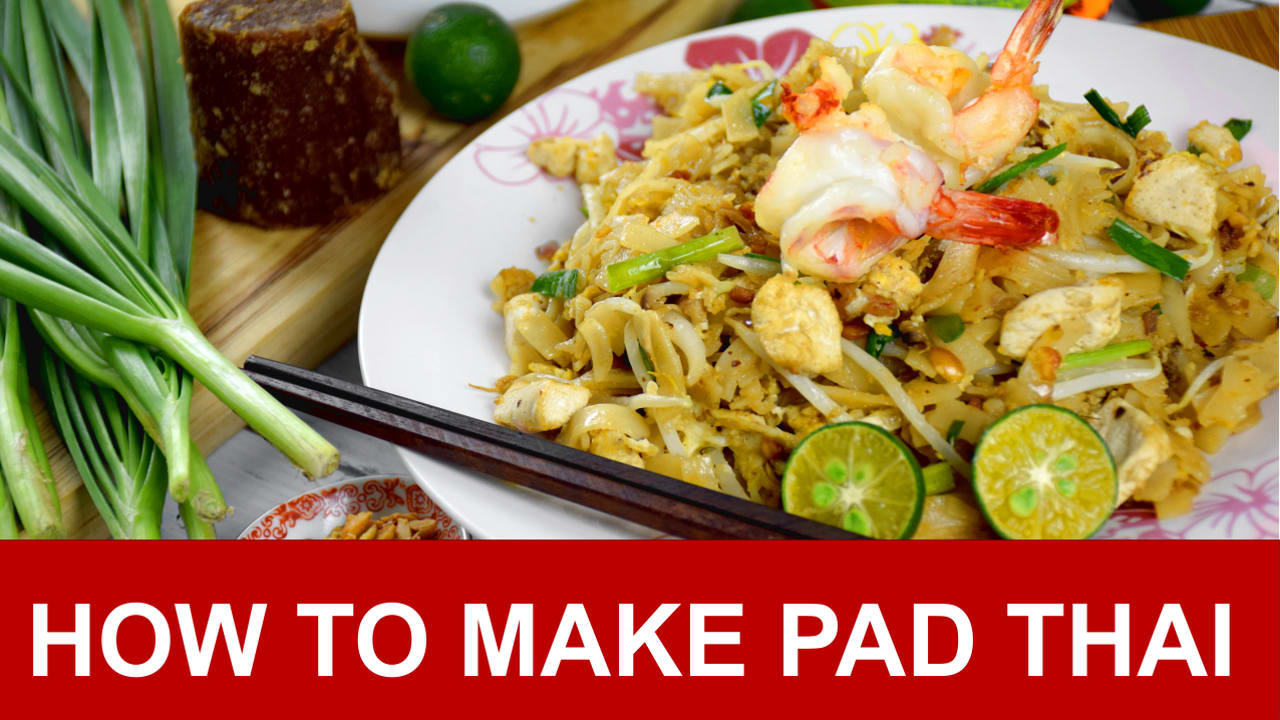 Pad thai recipe how to make authentic pad thai in four simple steps forumfinder Gallery