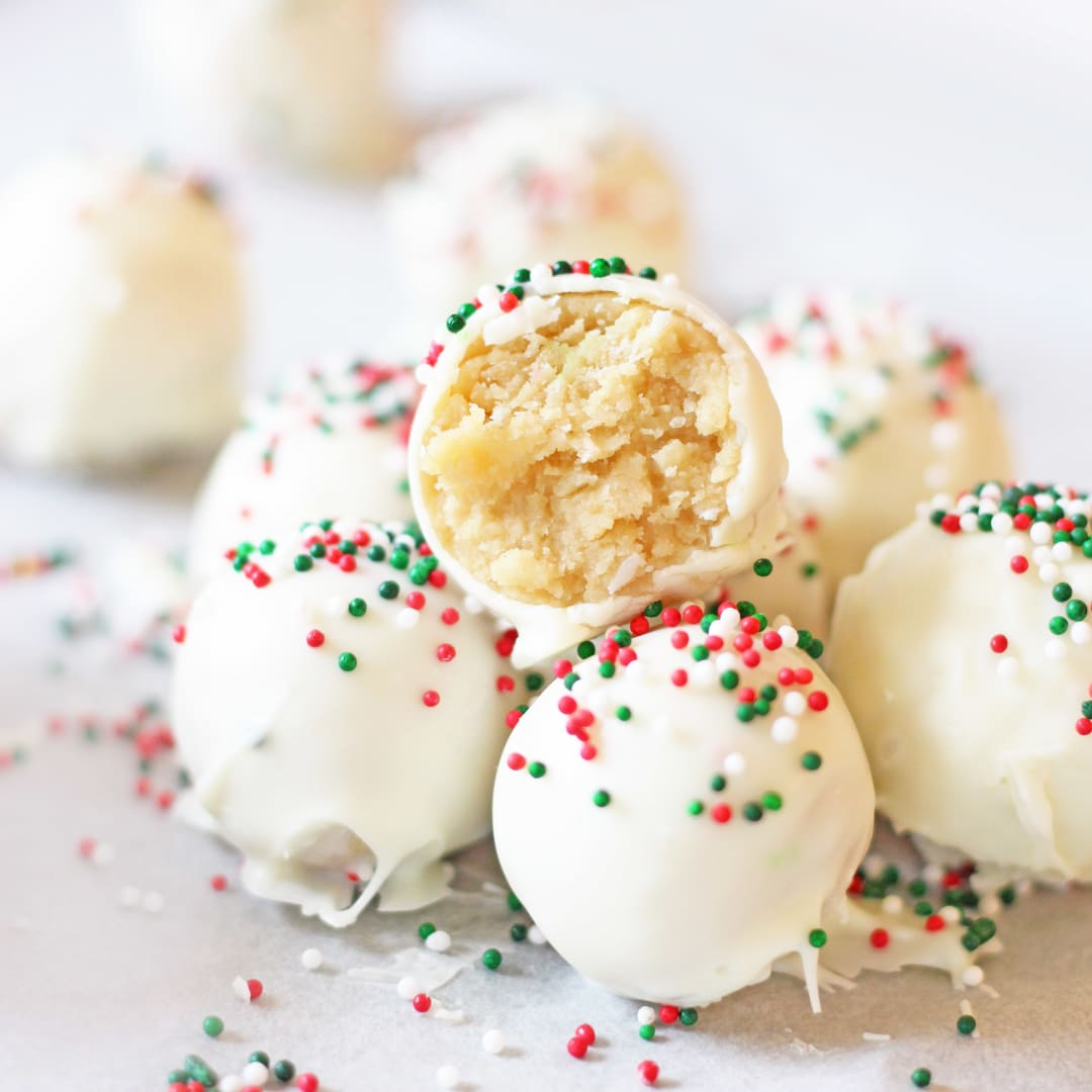 Sugar Cookie Truffles | If You Give a Blonde a Kitchen