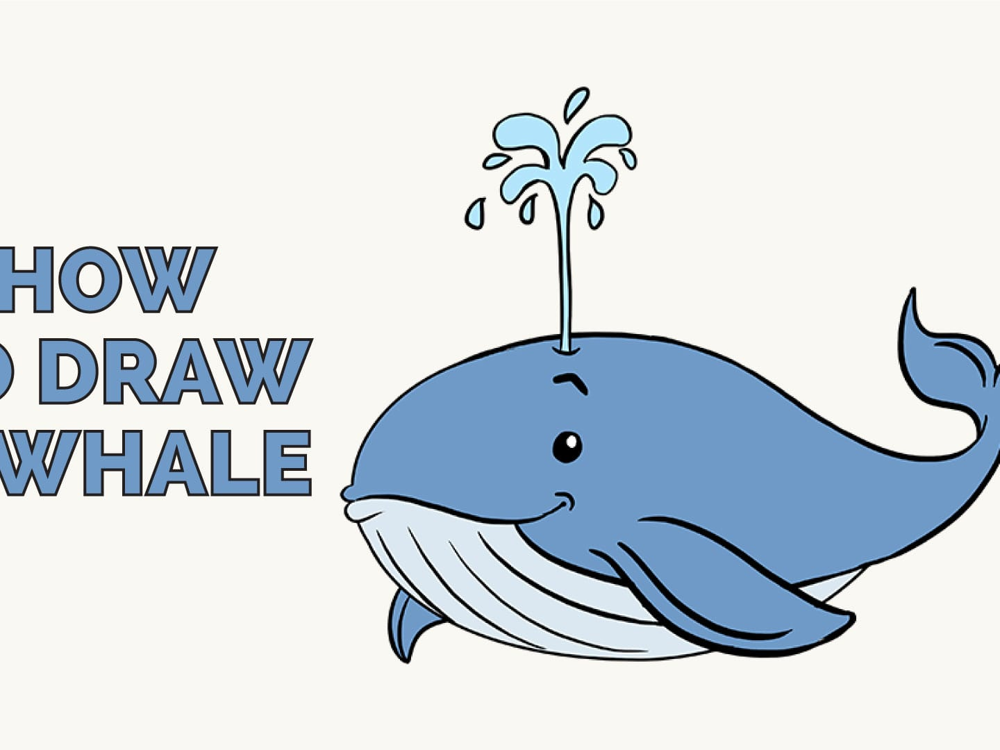 How To Draw A Whale In A Few Easy Steps Easy Drawing Guides