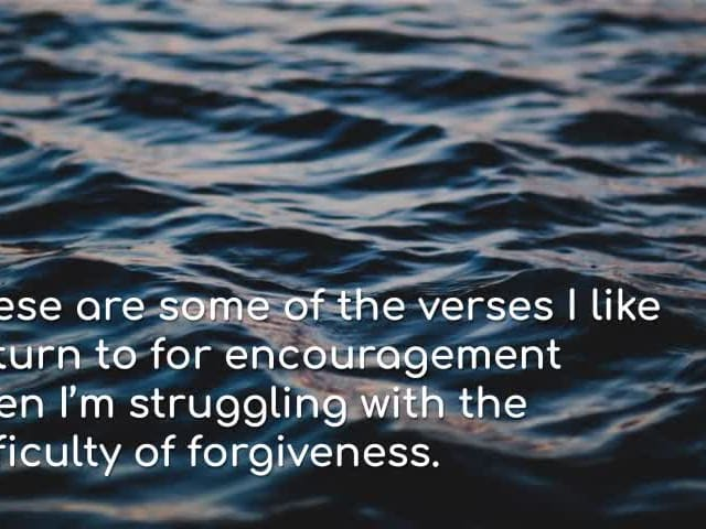 14 Bible Verses On Forgiveness