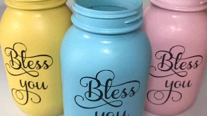 Diy Bless You Mason Jar Tissue Dispenser Day To Day Adventures